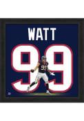 JJ Watt Houston Texans 20x20 Uniframe Framed Posters