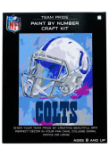Indianapolis Colts Paint By Number Craft Kit Puzzle