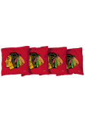 Chicago Blackhawks All-Weather Cornhole Bags Tailgate Game