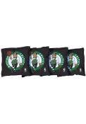 Boston Celtics Corn Filled Cornhole Bags Tailgate Game