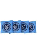New York City FC Corn Filled Cornhole Bags Tailgate Game