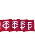 Minnesota Twins Corn Filled Cornhole Bags Tailgate Game