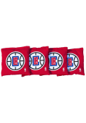 Los Angeles Clippers Corn Filled Cornhole Bags Tailgate Game