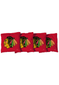 Chicago Blackhawks Corn Filled Cornhole Bags Tailgate Game