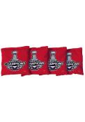 Washington Capitals Corn Filled Cornhole Bags Tailgate Game