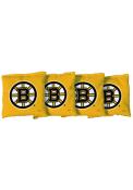 Boston Bruins Corn Filled Cornhole Bags Tailgate Game
