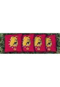 Ferris State Bulldogs Corn Filled Cornhole Bags Tailgate Game