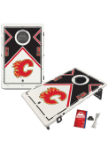 Calgary Flames Baggo Bean Bag Toss Tailgate Game