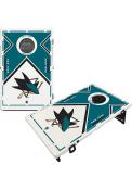 San Jose Sharks Baggo Bean Bag Toss Tailgate Game