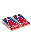 Los Angeles Clippers Triangle Regulation Cornhole Tailgate Game