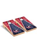 Columbus Blue Jackets Triangle Regulation Cornhole Tailgate Game