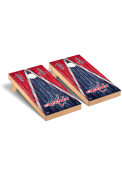 Washington Capitals Triangle Regulation Cornhole Tailgate Game