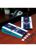 Charlotte Hornets Desktop Cornhole Desk Accessory