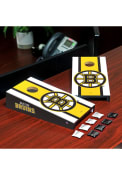 Boston Bruins Desktop Cornhole Desk Accessory