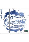 Florida Gators 3 Piece Watercolor Canvas Wall Art