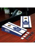 Toronto Maple Leafs Desktop Cornhole Desk Accessory