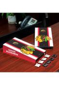 Chicago Blackhawks Desktop Cornhole Desk Accessory
