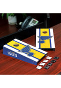 St Louis Blues Full Design Desktop Cornhole Desk Accessory