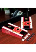 Calgary Flames Desktop Cornhole Desk Accessory