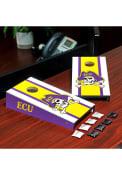 East Carolina Pirates Desktop Cornhole Desk Accessory