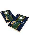 Utah Jazz Vintage 2x3 Cornhole Tailgate Game