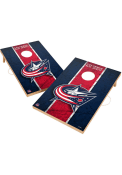 Columbus Blue Jackets Vintage 2x3 Cornhole Tailgate Game