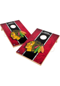 Chicago Blackhawks Vintage 2x3 Cornhole Tailgate Game