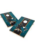 San Jose Sharks Vintage 2x3 Cornhole Tailgate Game