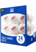 Detroit Red Wings 24 Count Balls Table Tennis