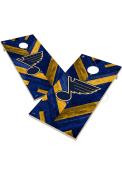St Louis Blues 2x4 Cornhole Set Tailgate Game