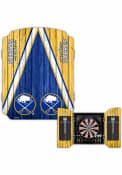 Buffalo Sabres Team Logo Dart Board Cabinet