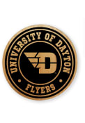 Dayton Flyers Alder Wood Coaster