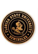 Florida State Seminoles Alder Wood Coaster