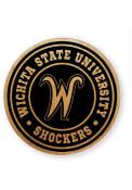Wichita State Shockers Alder Wood Coaster