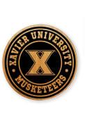 Xavier Musketeers Alder Wood Coaster