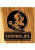 Florida State Seminoles Barrel Stave Bottle Opener Coaster