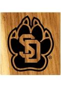 South Dakota Coyotes Barrel Stave Bottle Opener Coaster