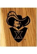 Xavier Musketeers Barrel Stave Bottle Opener Coaster