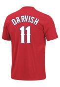Yu Darvish Texas Rangers Youth Player T-Shirt - Red