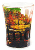 Indiana Full Color Shot Glass
