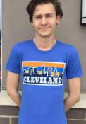 Cleveland Blue Pasta Skyline Short Sleeve T Shirt