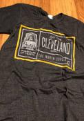 Cleveland Dark Grey Guardians Short Sleeve T Shirt