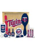 Minnesota Twins Womens Beauty Gift Box Bathroom Set