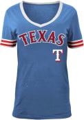 Texas Rangers Womens Blue Opening Night T-Shirt