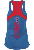 Detroit Pistons Womens Training Camp Tank Top - Blue