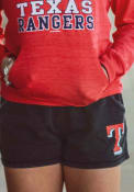 Texas Rangers Womens Rally Shorts - Charcoal