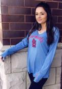 St Louis Cardinals Womens Timeless Dana T-Shirt - Light Blue