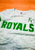 Kansas City Royals Womens St. Patricks Day T-Shirt - Kelly Green