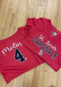 Yadier Molina St Louis Cardinals Womens Triblend T-Shirt -