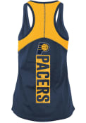 Indiana Pacers Womens Training Tank Top - Navy Blue